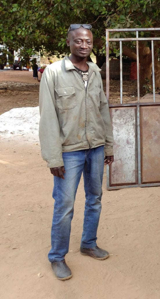 WAVS Graduate Papa is overcoming poverty through the income he earns welding